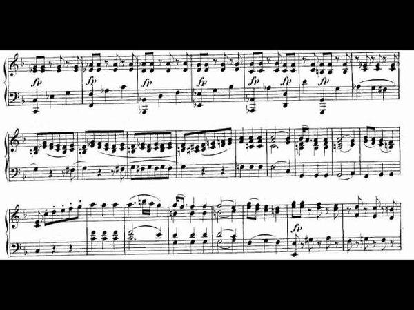 Mozart KV 332 I, Sonata No 12 in F Major Sheet Music Andras Schiff 樂譜版本影片