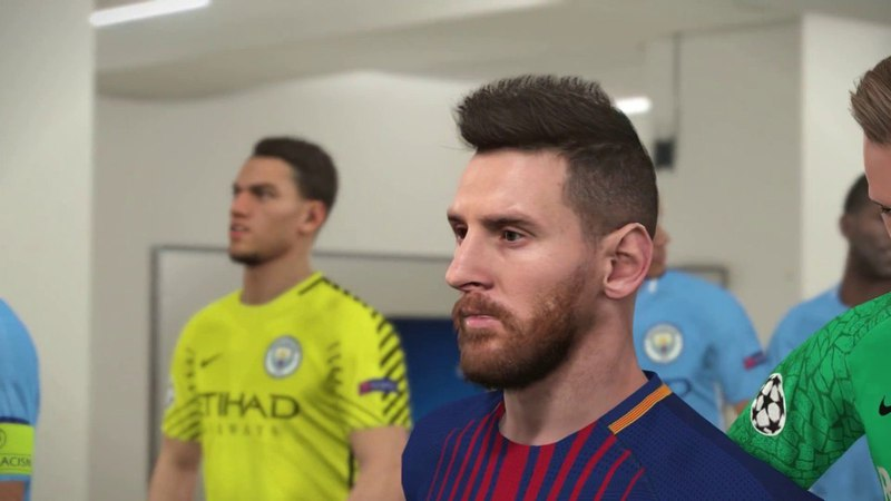 Barcelona vs Manchester City 2018 / UEFA Champions League / PES 2018 Gameplay PC