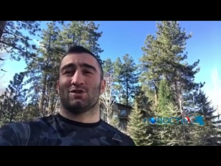 ChP Поздравление для жителей Осетии от нашего чемпиона