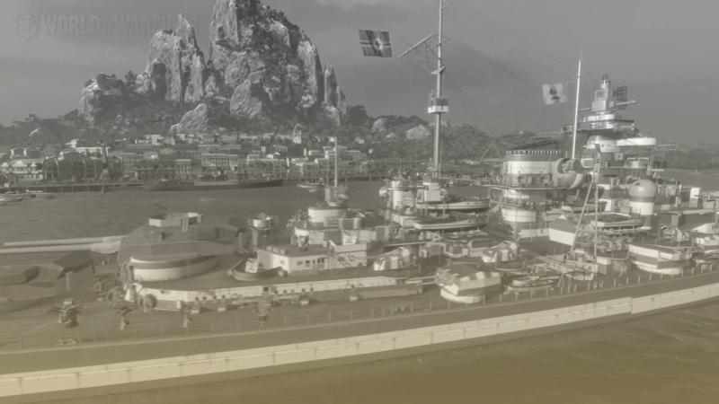 World of Warships   Cesta k Duke of York   bitva u severního mysu 6
