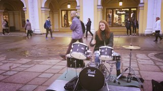 Amazing Girl Drummer (Bones Of Grace)