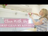 KITCHEN DEEP CLEAN, DECLUTTER AND ORGANIZE | KON MARIE METHOD | ULTIMATE EXTREME CLEAN WITH ME 2018