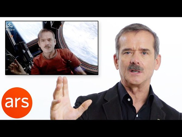 Astronaut Chris Hadfield Breaks Down His Space Oddity Video | Ars Technica
