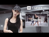 1Million dance studio Shining - Beyonce (ft. Jay Z &amp DJ Khaled) Dance Tutorial
