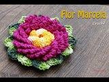 Flor Marcela em Croch