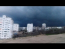 Страшные тучи в Севастополе на моём районе