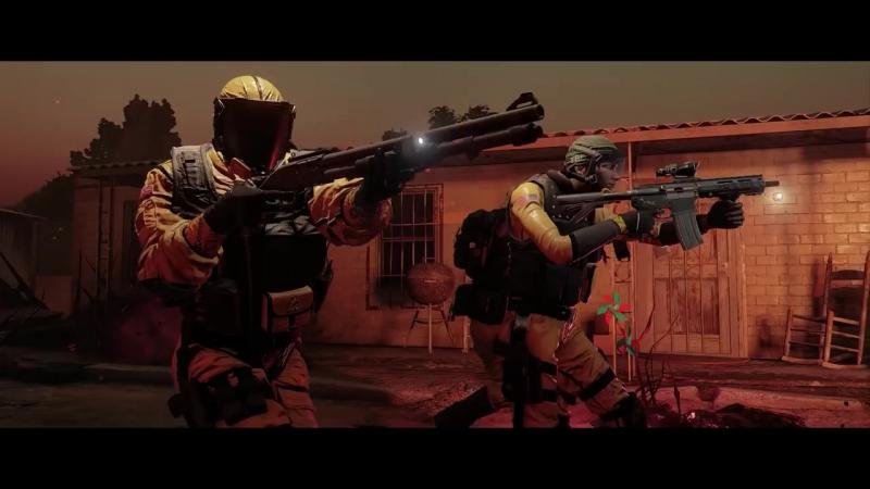 Rainbow Six Siege Operation Chimera - Outbreak Gameplay Trailer Ubisoft