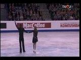 Julia Zlobina &amp Alexei Sitnikov - Free Dance (Aquarelle by Rene Aubry) @ 2012 Sheffield FS Europeans