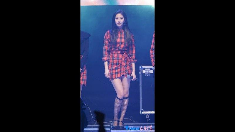 180317 러블리즈 폴린 4K 정예인 직캠 Lovelyz Yein fancam - Fallin (영월 평창올림픽 성공개최 콘서