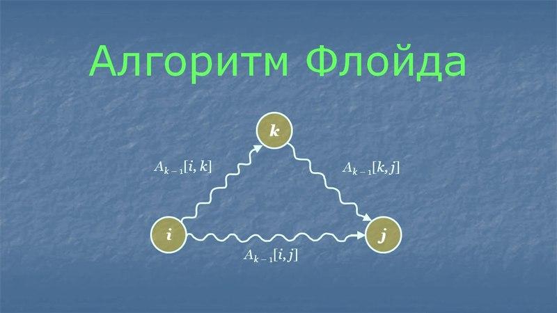 Алгоритм Флойда