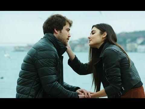 Али и Селин (Первый поцелуй, отрывки - Дочери Гюнеш)