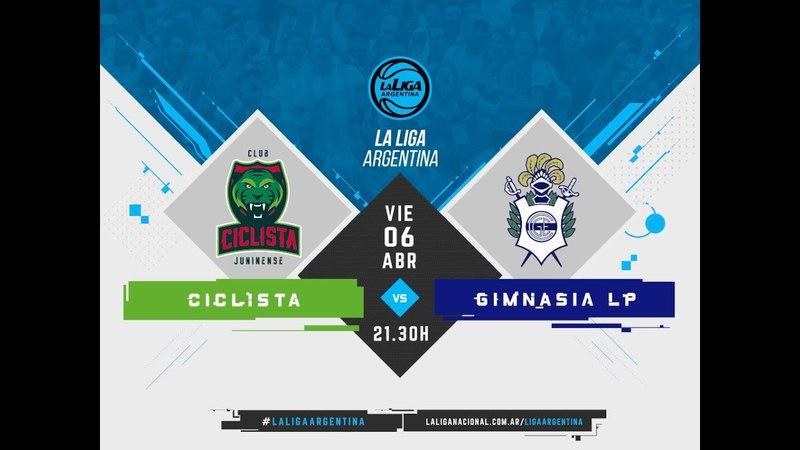 LaLigaArgentina | 06.04.2018 Ciclista Juninense vs. Gimnasia y Esgrima de La Plata