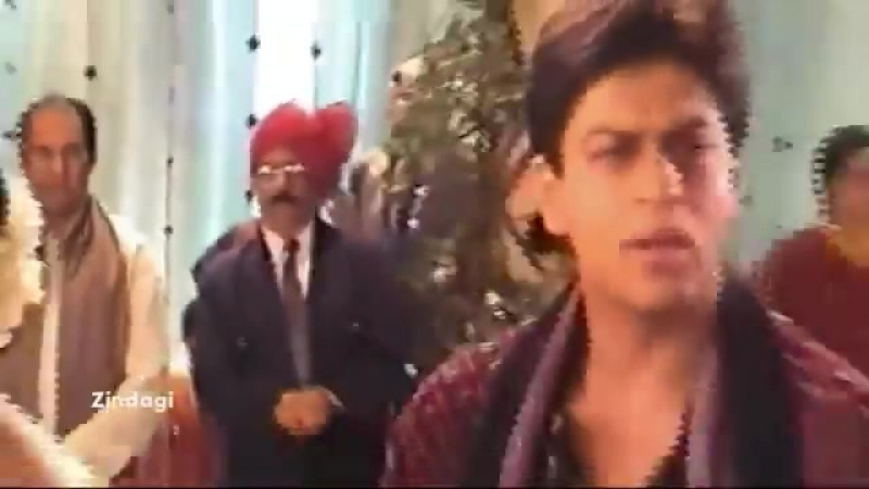 Amateur Video _ SRK, Kajol, Saif Ali Khan _ Pretty Zinta - Making Of Kal Ho Naa Ho -S.N