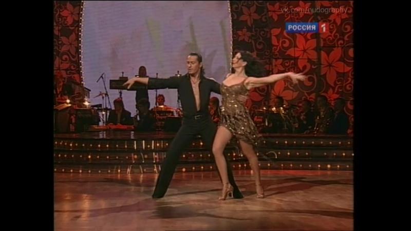 Алика Смехова в шоу Танцы со звездами Лучшие номера сезонов 2006 2010 Голая Нет грудь декольте ножки