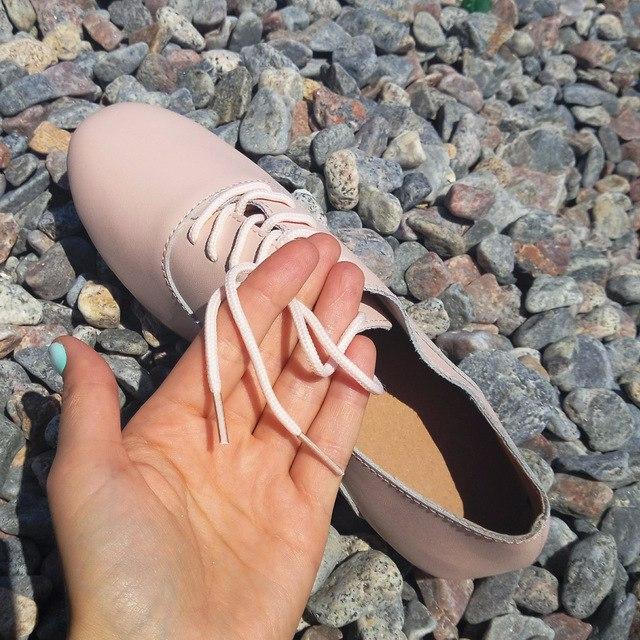 Мягкие кожаные туфельки за 1609