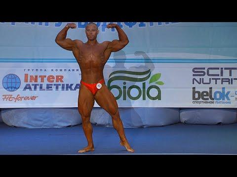 Андрей Корчака. Бодибилдинг. Юниоры свыше 80 кг. Финал. Произвольная программа