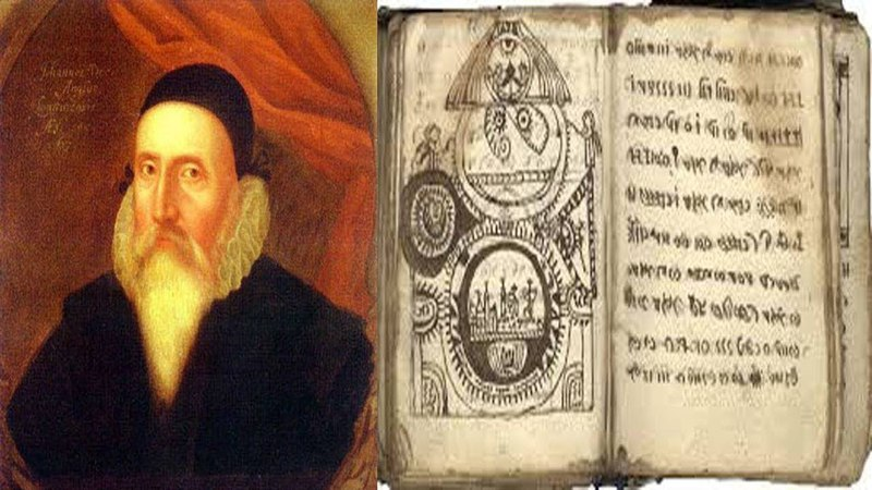 Mystery 16th century text on magic connected to John Dee that legend says carries a curse