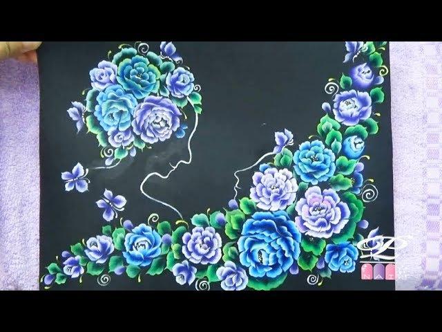 Video hướng dẫn thực hành học cách vẽ cọ bản nail đep, vẽ co bản từ cơ bản tới nâng cao 44