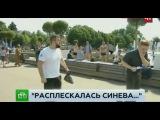 Пьяный десантник напал на корреспондента НТВ в прямом эфире 2.08.2017