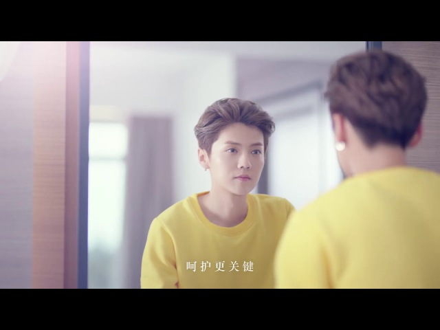 VIDEO 171221 LuHan @ L'OCCITANE Almond Milk Concentrate CF ENG SUB