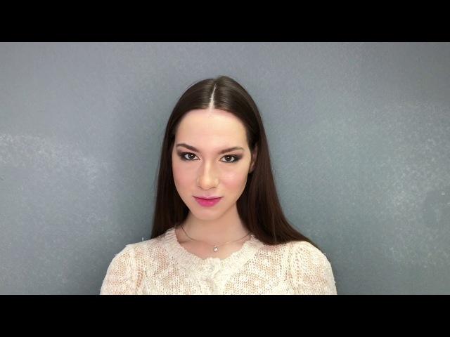 Neutral makeup for a date 😍 Makeup tutorial MPvisage 2018