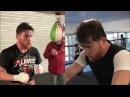 Фрагменты тренировок Сауля Альвареса перед боем с Головкиным 5 мая FightSpace