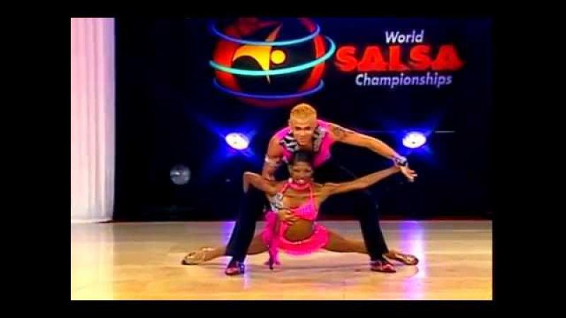 Adriana Torres Christian Montenegro (Cabaret Division) (World Salsa Championships) (Colombia)