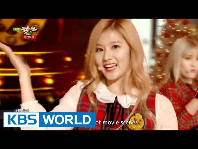 TWICE - Like OOH-AHH | 트와이스 - OOH-AHH 하게 [Music Bank Christmas Special / 2015.12.25]