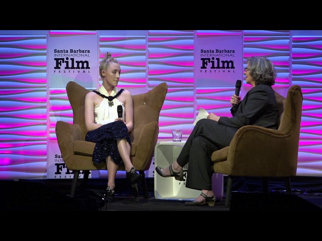 SBIFF 2018 Saoirse Ronan Discusses Watching Her Movies Hannah