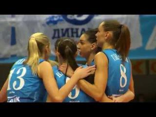 HIGHLIGHTS  Динамо Москва — Сахалин Суперлига 2017 18  Женщины