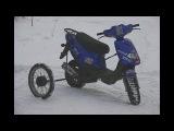 Топ 10 советов для езды зимой на скутере, мопеде, мотоцикле.