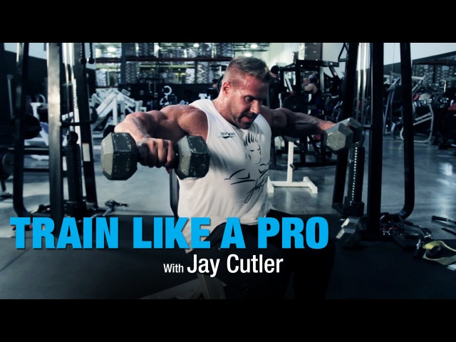 Side Lateral with Jay Cutler - Train Like A Pro - BPI Sports Ep. 2