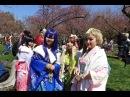 Cosplay Cherry Blossoms at Sakura Matsuri NYC