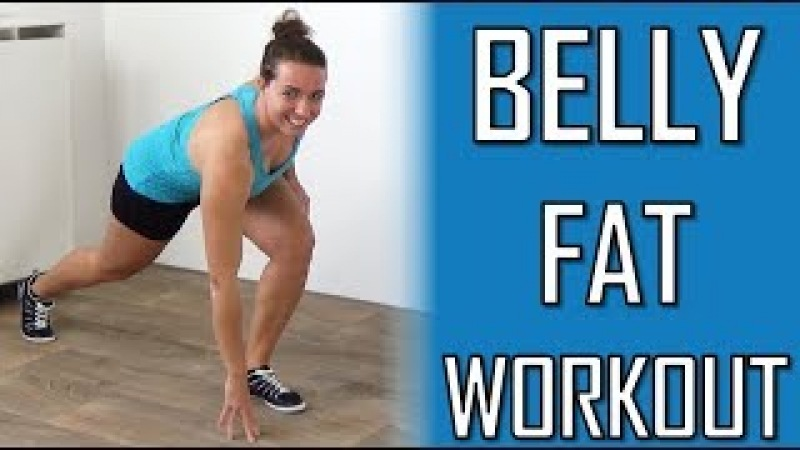20 Minute Cardio Workout to Lose Belly Fat Belly Fat Burning Exercises at Home