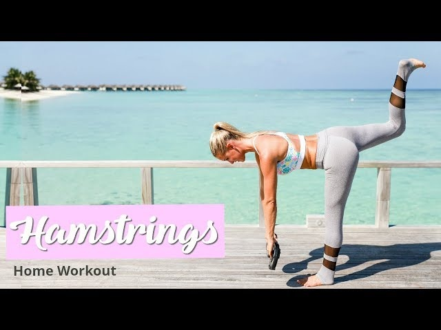 Hamstrings Glutes Workout - TONED LEGS | Rebecca Louise