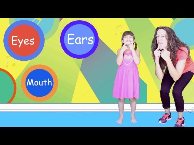 Head Shoulders Knees Toes | Children Song | Nursery Rhyme for Kids | Patty Shukla