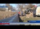 Без вреда дорогам в Керчи впервые в Крыму используют новый метод укладки водовода