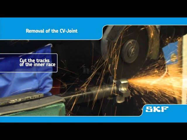 SKF - How to replace an SKF CV-Joint (VKJA 3867) on the Toyota Avensis 1.8 - uk playlist