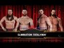 SBW Raw - Sami Zayn vs Marty Scurll vs Daniel Brayan vs Drew McIntyre