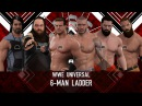 WFW PPV TLC - [6-Men TLC match for Universal Championship]