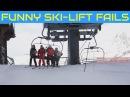 Best of Funny Ski Lift Fails 🎿 Lustige Skilift Abstiege 😃 People vs Lift