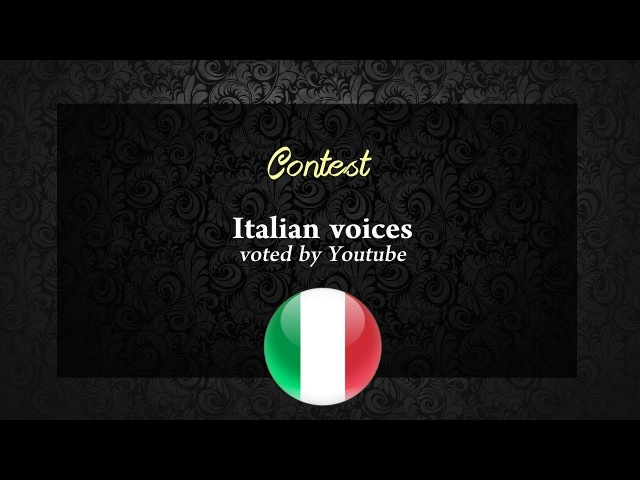 Who is your favourite Italian Non/Disney Princess voice ? Result !