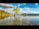 NEW ZEALAND WONDERS (No Music) 100% Pure Nature 4K UHD Ambient Documentary Film -1HR