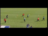 Quick transition for midfielders - 3 v 3+2: Henk Ten Cate: CBV Dutch Coaches Association