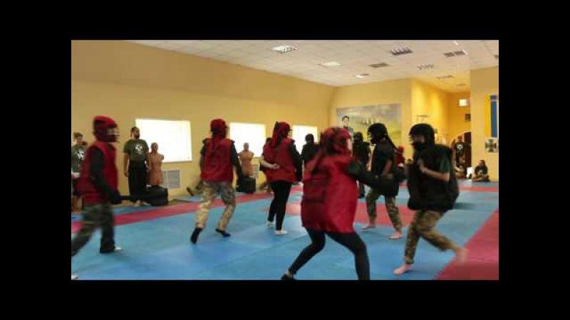 Козацькі бої 5х5 на Джурі - Прикордонник 2017 в Черкасах