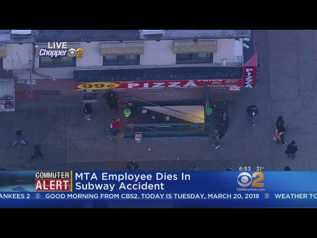 MTA Employee Dies In Subway Accident