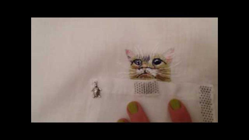 Мои рукоделия. Справила рубашечку.