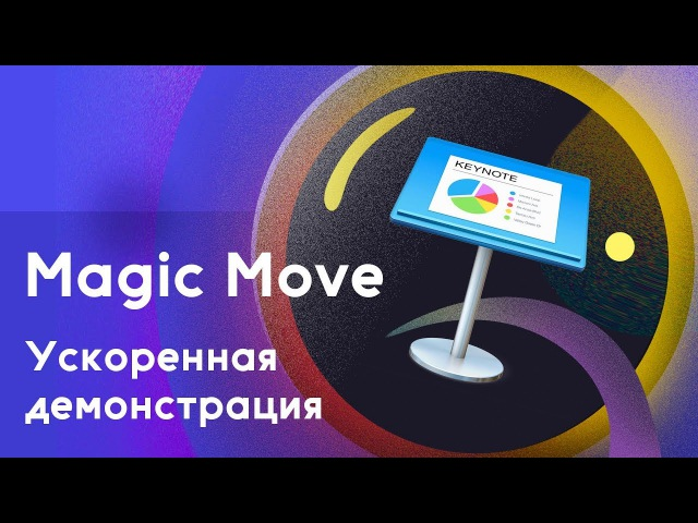 Бысрая демонстрация Magic Move в Keynote