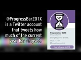 101 tweets in a year the story of @ProgressBar201X