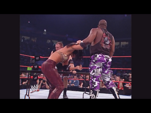 [WCOFP] Trish Stratus The Dudley Boyz vs. Chris Jericho, Christian Victoria: Raw, Dec. 9, 2002